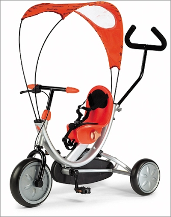 Italtrike 1509 OKO Line Tricycle - Orange