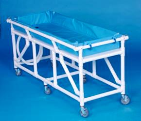 IPU BG2000 Mobile Bath Bed with 6 Heavy-duty Casters