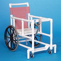 "IPU BWW99 Big Wheel Walker with 4"" Swivel Casters"