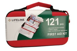 Life Line 4406 Lifeline 121 Piece EVA First Aid Kit  -Pack of 4
