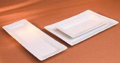 Pillivuyt 224039BL Quartet Rectangular Platter - 15 x 5.5 Inch