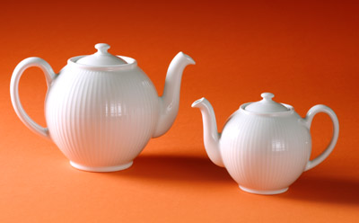 Pillivuyt 334250BX Plisse Teapot - Single Serve - 2 C. PLLV304