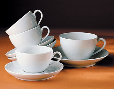 Pillivuyt 510929BL Cecil Breakfast Cup - 10 oz. PLLV352