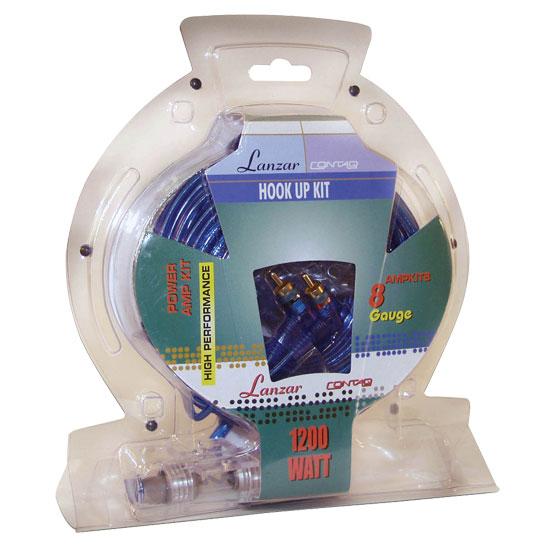 SOUND AROUND ELECTRONICS Sound Around AMPKIT8 1200 Watts 8GA Power Amp Kit at Sears.com