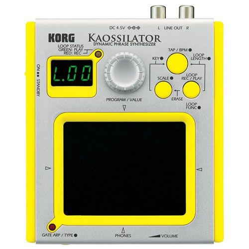 Korg Usa KAOSSILATOR Ultra-compact Portable Electronic Instument with synth sounds, sound effects, and drum sounds