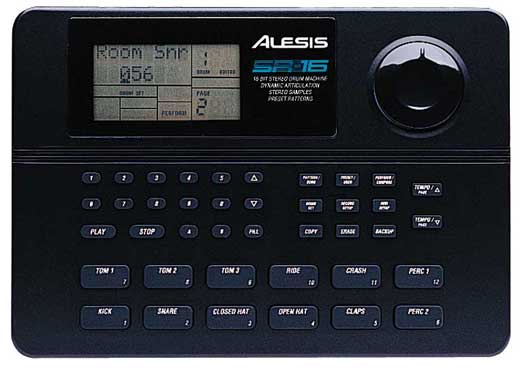 Image of Alesis SR16 16 Bit Drum Machine with Natural Drum Sounds