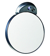 Zadro Health Solutions Inc., Zadro FC15L 15X Magnification Spot Mirror Lighted - Gray at Sears.com