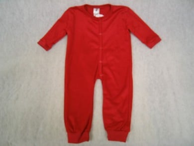Toddler Suits - Bell Ranger 480RD-2T Toddler Union Suit - Red - Size 2T