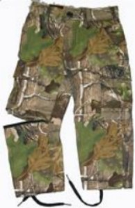 Zip Off Pants - Bell Ranger 311APG-10 Youth Zip Off Pants - All Purpose Green - Size 10