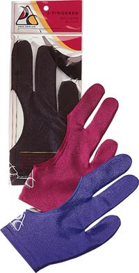 Billiard Glove - Cue And Case BG-BLK-XL Pro Series Billiard Glove - Ex- Large - Black