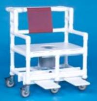 IPU BSC660 P Bariatric Shower Commode Chair