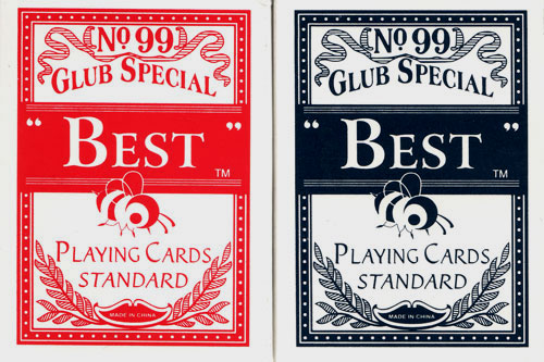 JP Commerce BESTCARDS Pair of Best Playing Cards