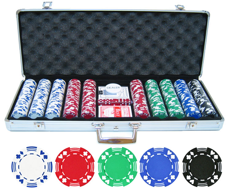 11.5g 500pc Double Suited Poker Chip Set