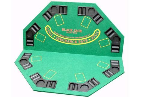 JP Commerce TB-1 2-in-1 Poker/Blackjack Table Top