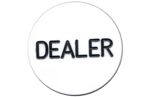 """JP Commerce DB 1.97"""" W x 1.97"""" H x 1"""" D Dealer Button"""
