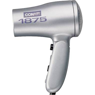 Conair 127LZ Travel and Home Dual Voltage Hair Dryer