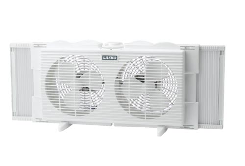 Lasko 2137 7 Inch Twin Window Fan 2 Speed