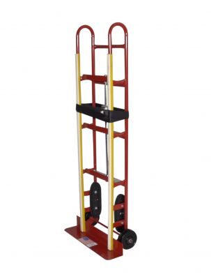 Appliance Hand Truck - Milwaukee Hand Trucks 40185 Appliance Truck With Ratchet Belt Tightener And Mold-on Wheels