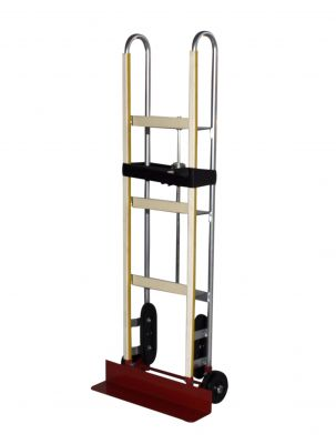 Appliance Hand Truck - Milwaukee Hand Trucks 48188 Appliance Truck With Ratchet Belt Tightener And 8 Inch Ace Tuf Wheels