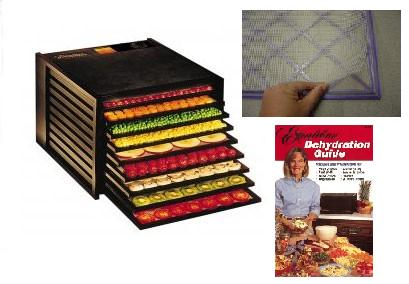 Excalibur 2900 9 Tray Food Dehydrator - Black