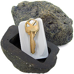 Realistic Rock Outdoor Key Holder - As Seen on TV