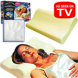 As Seen on TV - Comfort Memory Pillow - Cloud Soft Foam