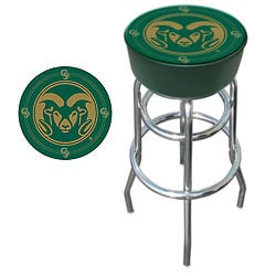 Colorado State University Padded Bar Stool POKER8908