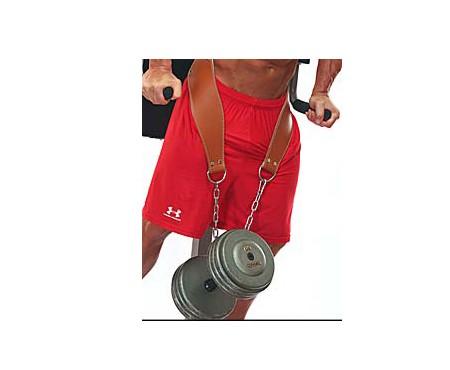 Dip Belt - Schiek Sport 5008 Leather Contour Dip Belt