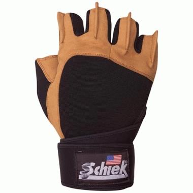 Lifting Gloves - Schiek Sport 425-XL Power Gel Lifting Glove With Wrist Wraps XL