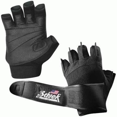 Lifting Gloves - Schiek Sport 540-XS Platinum Gel Lifting Glove With Wrist Wraps XS