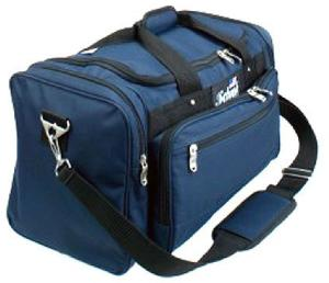 Schiek Sport BAGM Deluxe Multi-Compartment Polyester Gym Bag - 20 Inch