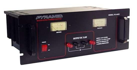 Electronics Supply - Sound Around Electronics PS64K Fully Regulated Low Ripple 80 Amp Power Supply