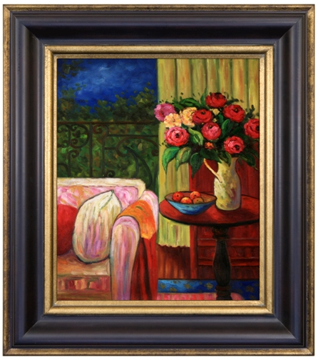 Artmasters Collection PA89408-83A Interior View IV Framed Oil Painting