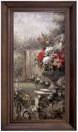 Artmasters Collection AC96380-69594 Mystic Garden II Framed Oil Painting