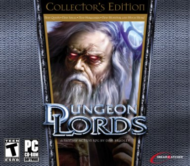 DreamCatcher Interactive PCO48550TB Dunegeon Lords - Collectors Edition DIGI PACK
