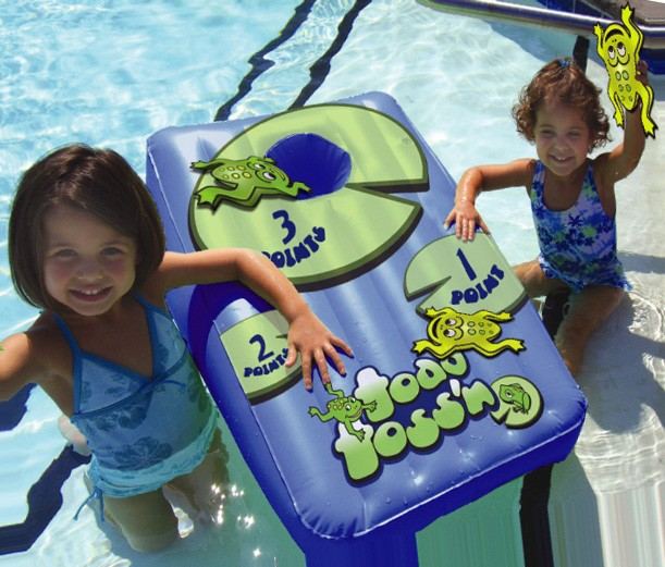 Driveway Games TOADTS-GM-00119 Toad Toss n - Floating Bean Bag Toss Game