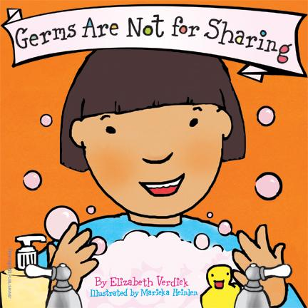 Free Spirit Publishing 9781575421964 Germs Are Not for Sharing Board Book