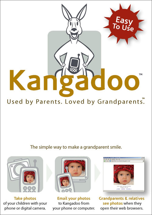 Kangadoo UB1011 Online Photo Sharing 1 Year Subscription with Gift Box