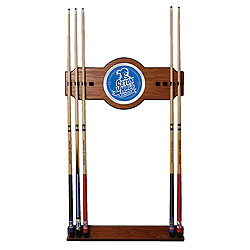 Seton Hall University Wood and Mirror Wall Cue Rack