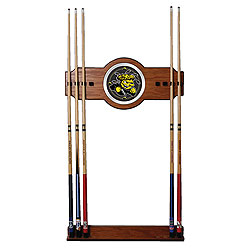 Wichita State University Wood and Mirror Wall Cue Rack
