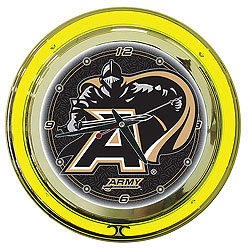 "14"" Diameter Army Neon Clock- CLC1400-ARM"