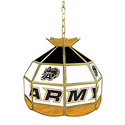 Army Stained Glass Tiffany Lamp - 16 Inch