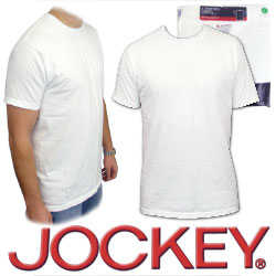 Jockey Crew Neck T Shirt - Jockey Large Crew Neck T-Shirt - 3 Pack