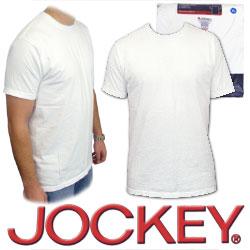 Crew Neck Shirts - Jockey XL Crew Neck T-Shirts 3 Pack