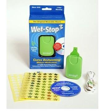 PottyMD W103 Wet-Stop3 Bedwetting Alarm System