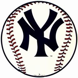 Smart Blonde C - 005 NY Yankees Circular Baseball Sign - CS60011 at Sears.com