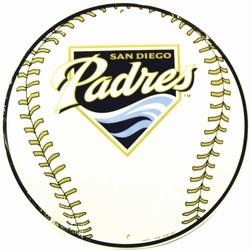 C - 033 San Diego Padres Circular Sign - CS60047