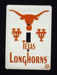 Texas Longhorns Light Switch Covers (single) Plates LS10008