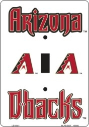 AZ Arizona Diamondbacks Light Switch Covers (single) Plates LS10021