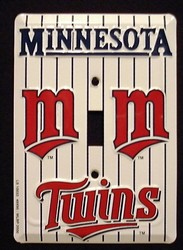 Minnesota Twins Light Switch Covers (single) Plates LS10033